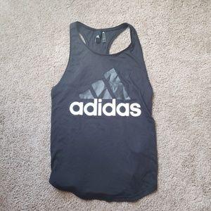 Black adidas tank top small